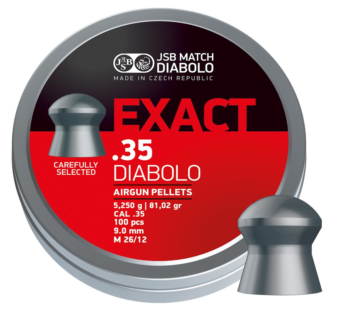 JSB Match Diabolo exacte RS Diabolo .177 4.52 Mm Pellets 100 Sample New